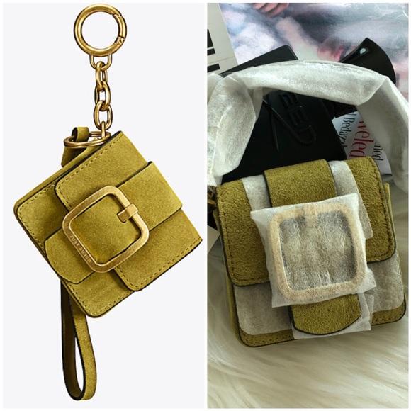 7202c052a86 Tory Burch Sawyer Mini Bag Key Fob